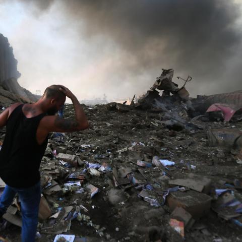 Urgence Liban : Le SPF aux côtés des victimes