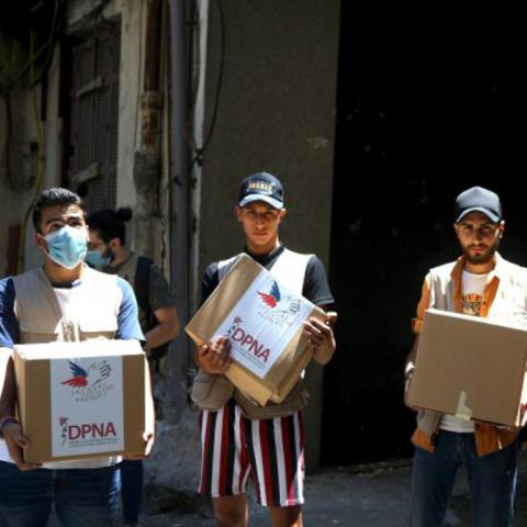 Alerte faim Liban : le Secours populaire poursuit sa solidarité